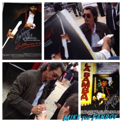 lou diamond phillips signing autographs cloudy with a chance of meatballs 2 premiere