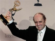 Bob newhart wins an emmy for the big bang theory