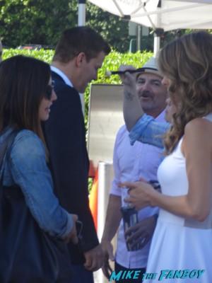 David Boreanaz signing autographs for fans extra at universal studios hot sexy angel bones buffy star
