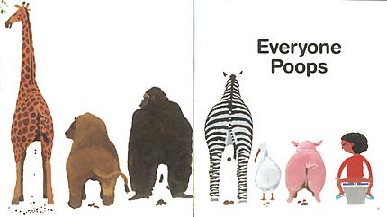 Everyone-Poops animals pooping pooing