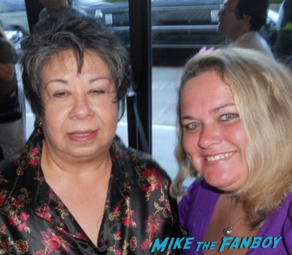 Lupe_Ontiveros fan photo signing autographs for fans rare