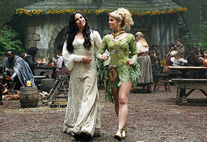 once upon a time season 3 promo still tinkerbell rare promo