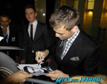 douglas booth signing autographs hot sexy rare romeo and juliet sex photo