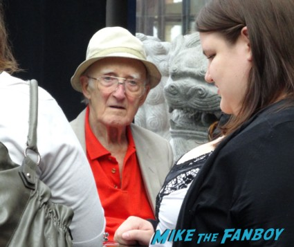 Ron Moody now 2013 signing autographs Oliver 45th Anniversay screening and q and a