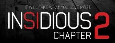 Insidious Chapter 2 movie poster promo rare logo