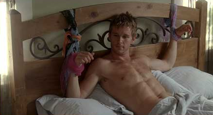 Ryan Kwanten shirtless naked true blood photo rare