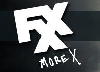FXX More X logo rare