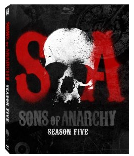 sons of anarchy season 5 promo blu ray cover charlie hunnam rare jax teller key art pack shot
