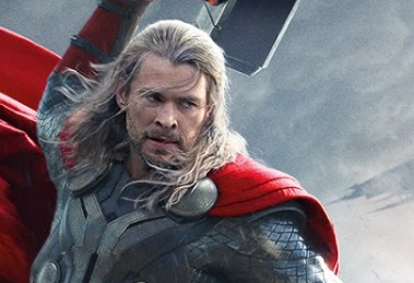 Thor The Dark world chris hemsworth movie poster logo rare hot sexy norse god blonde sexy hunk promo