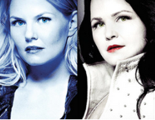 Jennifer morrison ginnifer goodwin once upon a time cast rare promo poster