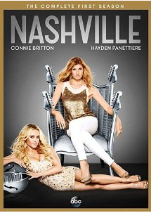 Nashville season 1 dvd cover pack shot rare connie britton rare Nashville season 1 cast photo rare promo connie britton Hayden Panettiere