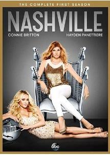 Nashville season 1 dvd cover pack shot rare connie britton rare Nashville season 1 cast photo rare promo connie britton Hayden Panettiere