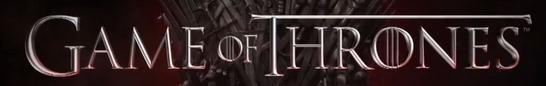 game of thrones title rare logo hot