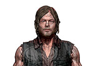 Norman reedus Daryl dixon deluxe action figure mcfarlane toys with motorcycle crossbow march 2014