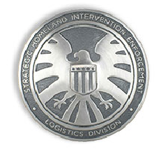 Agent Phil Coulson Replica Agents Of S.H.I.E.L.D. Badge EFX NYCC Exclusive