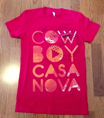 Cowboy Casanova shirt rare signed autograph carrie underwood rare promo