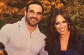 Melissa Gorga and her husband joe family photo rare