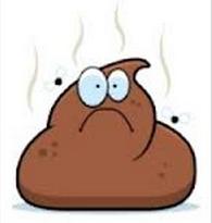 stinky smelly poo clip art rare