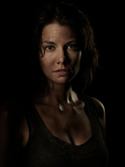 Lauren Cohen The Walking Dead season 4 Portrait Cast photo hot rare