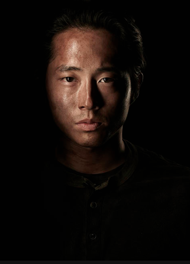 Stephen yuen The Walking Dead season 4 Portrait Cast photo hot rare