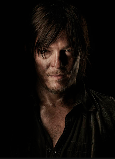 Norman Reedus The Walking Dead season 4 Portrait Cast photo hot rare