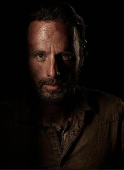 Andrew Lincoln The Walking Dead season 4 Portrait Cast photo hot rare