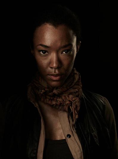 Sonequa Martin-Green The Walking Dead season 4 Portrait Cast photo hot rare