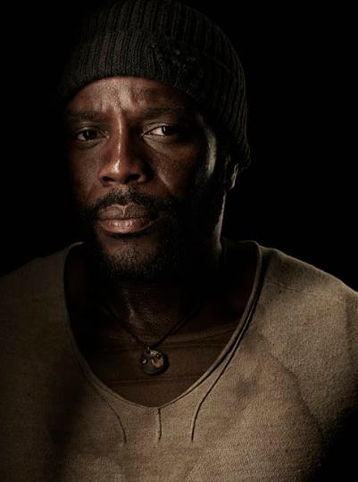 Chad Coleman The Walking Dead season 4 Portrait Cast photo hot rare