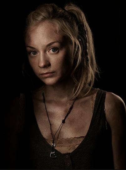 Emily Kinney The Walking Dead season 4 Portrait Cast photo hot rare