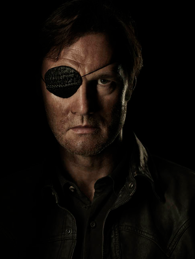 David Morrissey The Walking Dead season 4 Portrait Cast photo hot rare