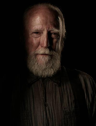 Scott Wilson The Walking Dead season 4 Portrait Cast photo hot rare
