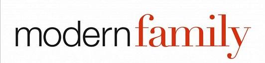 Modern family logo rare promo