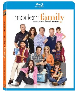 Modern family season 4 blu ray key art rare