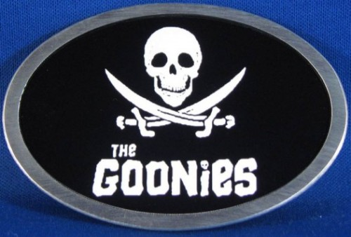 The goonies logo rare data from the goonies heading to los angeles short round Jonathan Ke Huy Quan