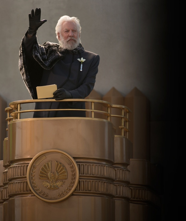 catching-fire-still hunger games donald sutherland promo still photo