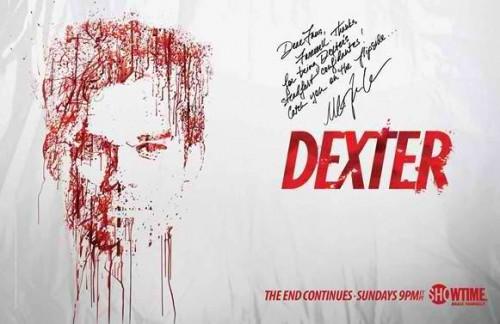 dexter_finale logo michael c hall signature rare