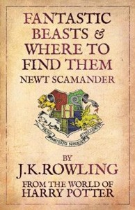 JK Rowling harry potter logo rare Fantastic Beasts and Where to Find Them