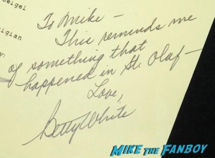 betty white signed golden girls script love for sale golden girls signed autograph script bea arthur betty white 013