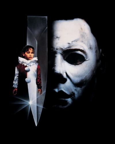 Halloween four movie poster rare promo michael myers rare danielle harris