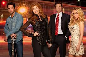 Nashville season 1 cast photo rare promo connie britton Hayden Panettiere