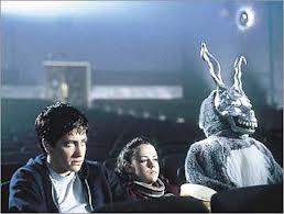 Donnie Darko frank the bunny in the movie theater