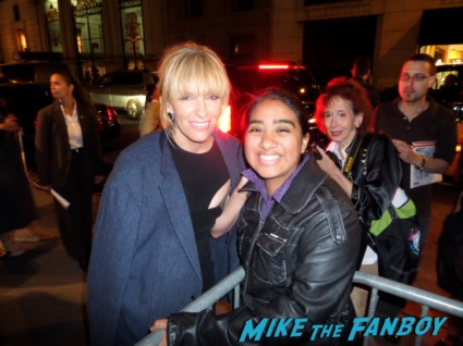 Toni Collette signing autographs for fans enough said new york movie premiere rare promo