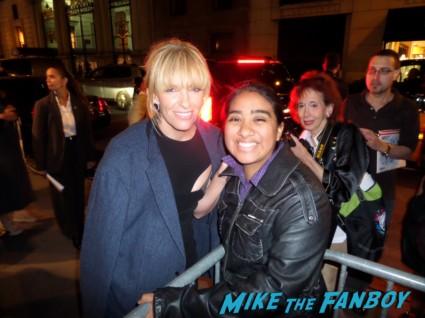 Toni Collette signing autographs for fans enough said new york movie premiere rare promo