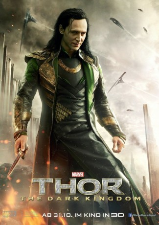 tom hiddlestone loki international thor 2 movie poster one sheet Thor: The dark world Thor The Dark world chris hemsworth movie poster logo rare hot sexy norse god blonde sexy hunk promo thor_the_dark_world_ver8_xlg international-lokiposter