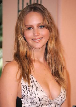 Jennifer Lawrence oscar red carpet rare promo
