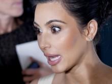 kim kardashian scared rare crazy bug eyed photos
