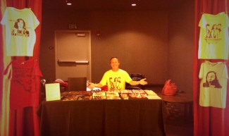 keith coogan merchandise table