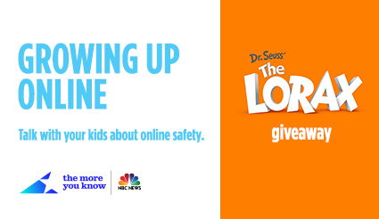 growing up online the lorax giveaway contest