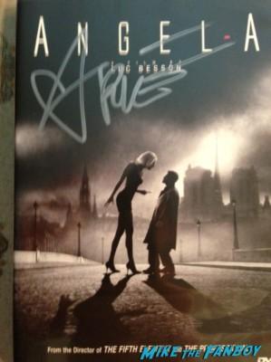 Rie Rasmussen signed autograph angel a rare promo dv cover insert rare hot victoria's secret