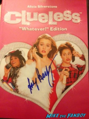 Amy Heckerling signed autograph clueless dvd cover movie poster rare paul rudd alicia silverstone photo Dan Hedaya clueless Clueless cast photo alicia silverstone  movie Clueess movie poster one sheet alicia silverstone brittany murphy stacey dash Clueless-Brittany-Murphy-Donald-Faison